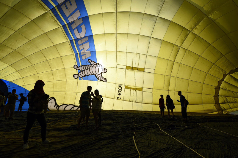 Walk in a Balloon - Cold Inflation priced at RM5 per person